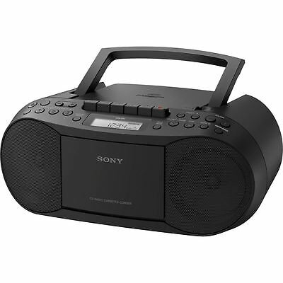 Sony CFD-S70 Black CD/Cassette Tape Boombox with Portable Radio {4548736026582}