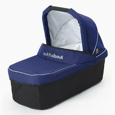 Out n About Nipper Single Carrycot (Royal Navy) From Birth Newborn Pram Body