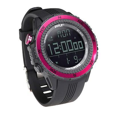 PyleSports PSWWM82PN Digital Multifunction Active Sports Watch Pink