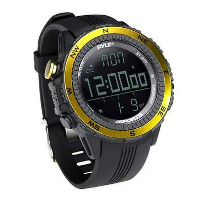 PyleSports PSWWM82YL Digital Multifunction Active Sports Watch Yellow