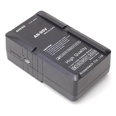 ANSSO AS-95V V-Lock Mount Batteries 15A 95W w/ USB+D-tap output LED Monitor UK