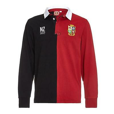 British and Irish Lions Men's Long Sleeve Tour Rugby Polo