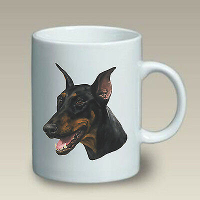 11 oz. Ceramic Mug (LP) - Black & Tan Doberman Pinscher 46015