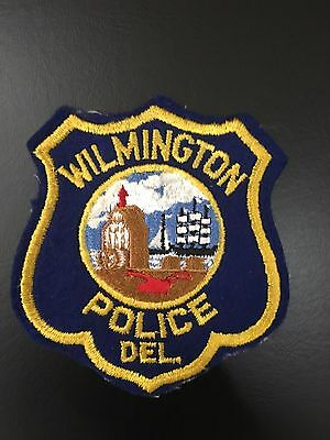 Wilmington Delaware   Police Shoulder Patch Old Used