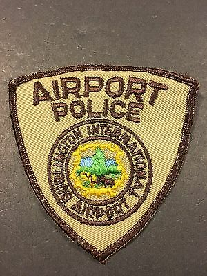 Burlington Vermont Airport Police Shoulder  Patch  Old Used