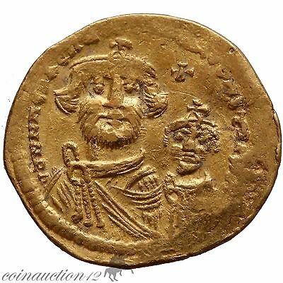 Byzantine Imperial Gold Solidus Heraclius 613-632 Ad Constantinople
