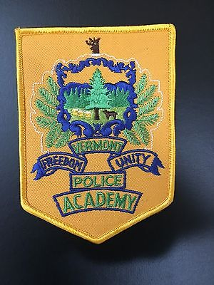 Academy Police Vermont  Shoulder Patch