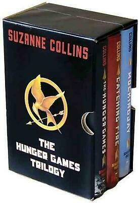 The Hunger Games Trilogy by Suzanne Collins (English) Boxed Set Book Free Shippi