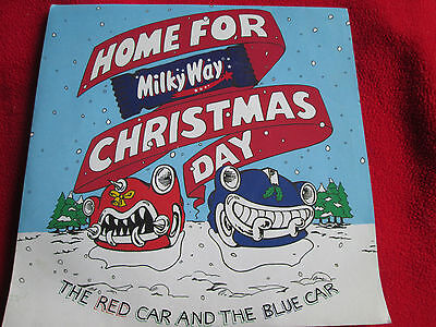 "Red Car And The Blue Car, The Home For Christmas Day VS 1394  7"" vinyl 45 single"