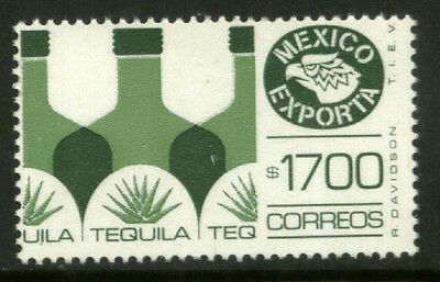 MEXICO Exporta 1596 $1700P Tequila Fosfo Paper 13 MNH