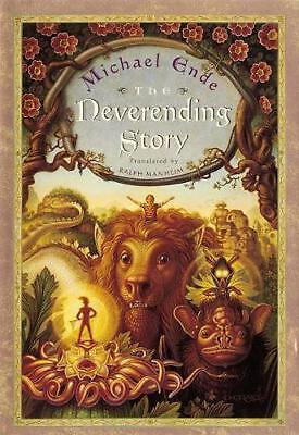 The Neverending Story by Michael Ende (English) Hardcover Book Free Shipping!