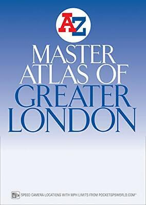 Master Atlas of Greater London by Geographers A-Z Map Company Paperback Book The