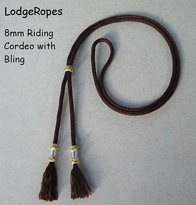 LodgeRopes 8mm Deluxe Riding Cordeo