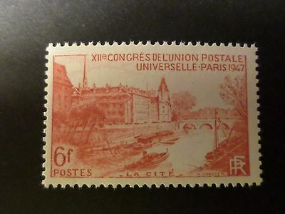 FRANCE 1947, timbre 782, UPU, PARIS la CITE', neuf**, VF MNH STAMP