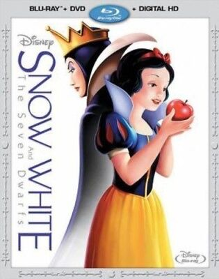Snow White and the Seven Dwarfs [New Blu-ray] With DVD, Widescreen, 2 Pack, Ac