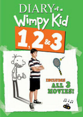 Diary Of A Wimpy Kid 1 & 2 & 3 DVD
