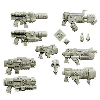 Space Knight Wolves Space Knights Waffen Guns Bitz Spellcrow