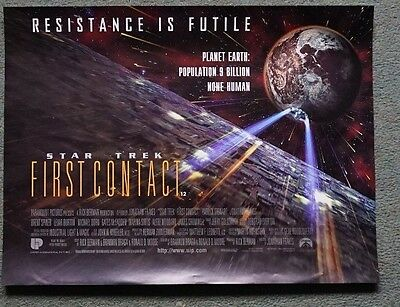 Star Trek: First Contact (1996) UK Mini Poster Original 16 x 12 inches