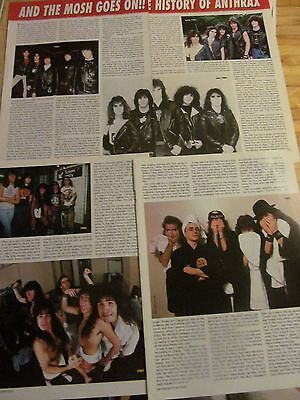 Anthrax, Four Page Vintage Clipping