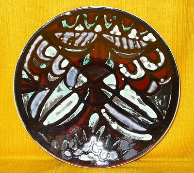 Vintage POOLE Delphis PLATE or CHARGER, Shape 4, 1960/70's, 10.5in