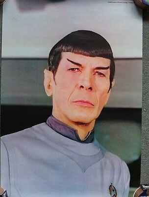 Star Trek The Motion Picture 1979 UK Mini Poster Original Spock 73 x 45