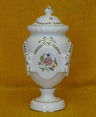 """MINTON """"Haddon Hall"""" Pedestal Square Section VASE & Cover"""