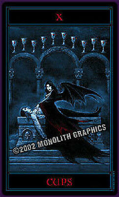 GOTHIC TAROT Deck by Joseph Vargo   Self Published