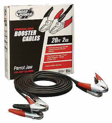 Coleman Cable 08860 20-Foot Ultra-Heavy-Duty Truck & Auto Battery Booster Cables