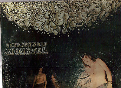 STEPPENWOLF: MONSTER on VG++ DUNHILL  stereo  LP