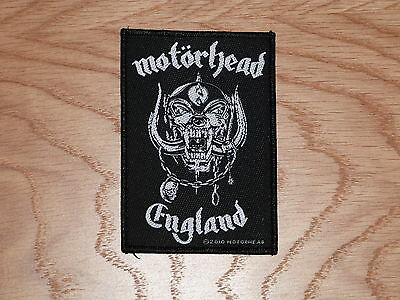 Motorhead - England (New) Sew On W-Patch Official Band Merchandise