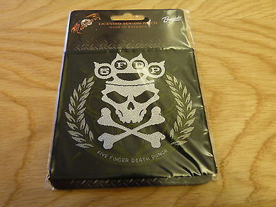 Five Finger Death Punch - Knuckle (New) Sew On W-Patch Official Band Merchandise