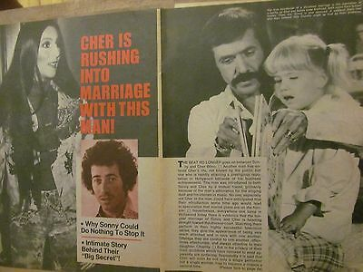 Cher, Five Page Vintage Clipping