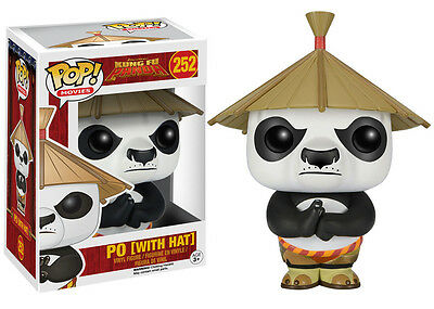 Funko Pop Movies Kung Fu Panda Po w/ Hat Vinyl Action Figure Collectible Toy 252