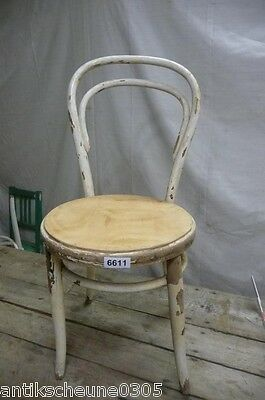 6611. Alter Bugholz Stuhl Old wooden chair