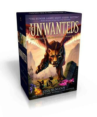The Unwanteds: The Unwanteds; Island of Silence; Island of Fire by Lisa McMann P