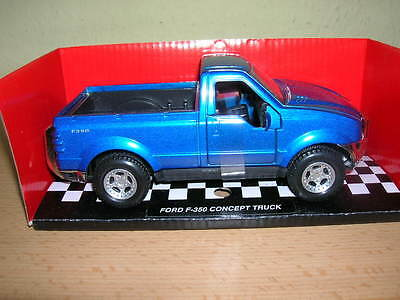 NewRay Ford F-350 / F 350 / F350 Concept Truck blue 1:32 Model railway 1 gauge
