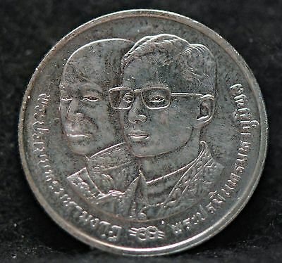 Thailand, (BE2535) (1992) 2 Baht, Y272, Uncirculated                         4gm