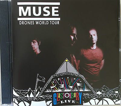 """Muse """"drones World Tour"""" Rare Double Cd Live 2016 Neuf !"""