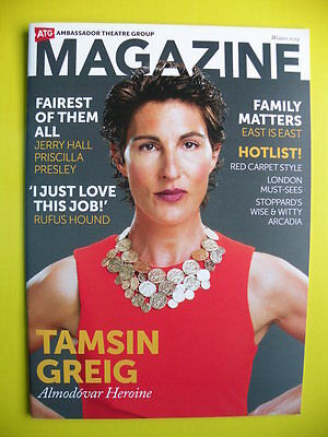 Ambassador Theatre Group Magazine Winter 2014 - Tamsin Greig Tom Stoppard