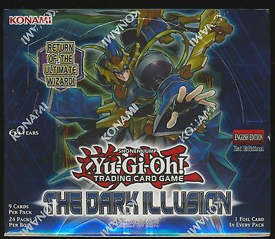 Yu-Gi-Oh The Dark Illusion 1st Edition U.S English SEALED Booster Box Yugioh