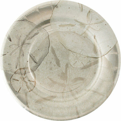 "Madhouse By Michael Aram 8.13"" Ocean Fine Paper Luncheon Plate (8 Count)"