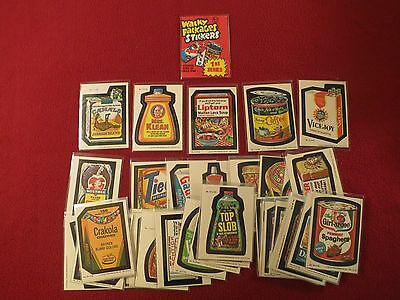 1979 Topps WACKY PACKAGES 1st Series Complete Set (66) with Wrapper NM/MINT