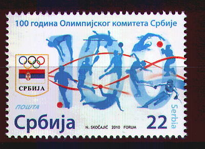 0291 SERBIA 2010 - Olympic Committee of Serbia - MNH Set