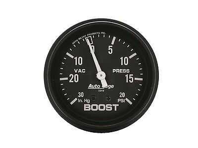 Auto Meter 2310 0-20/0-30 Turbo Boost Vacuum/boost