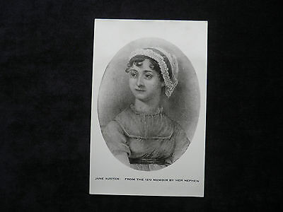 Vintage Postcard With Image Of Jane Austen: From The 1870 Memoir By Her Nephew