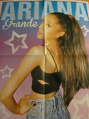 Ariana Grande, Cameron Dallas, Double Four Page Foldout Poster