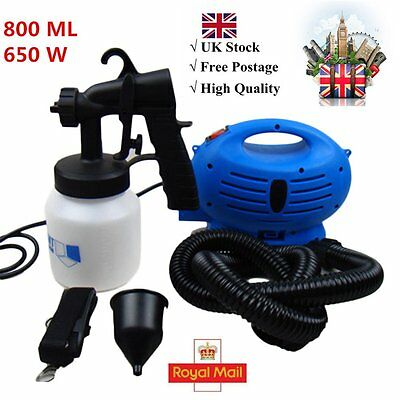 800ml 650W Electric Paint Spray Zoom Gun Fence Painting Sprayer High Quality