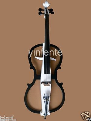 4/4 Electric Cello silent Powerful Sound Solid wood Yinfente #2-5