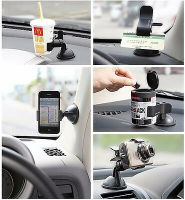 Universal 360° Car AUTO ACCESSORIES Rotating Phone Windshield Mount GPS Holder Y