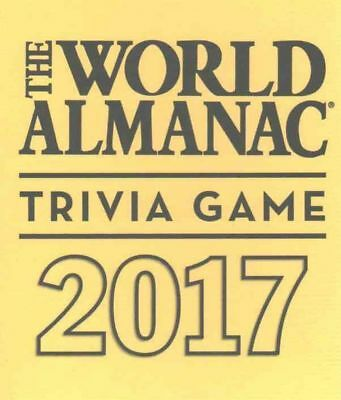 The World Almanac 2017 Trivia Game by Hardcover Book (English)
